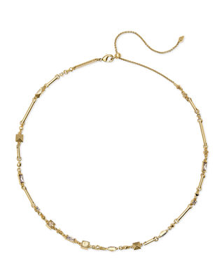 Rhett Choker Necklace, Gold