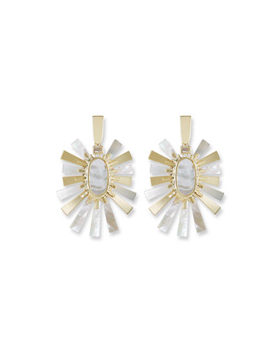 Sigal Pearlescent Statement Earrings