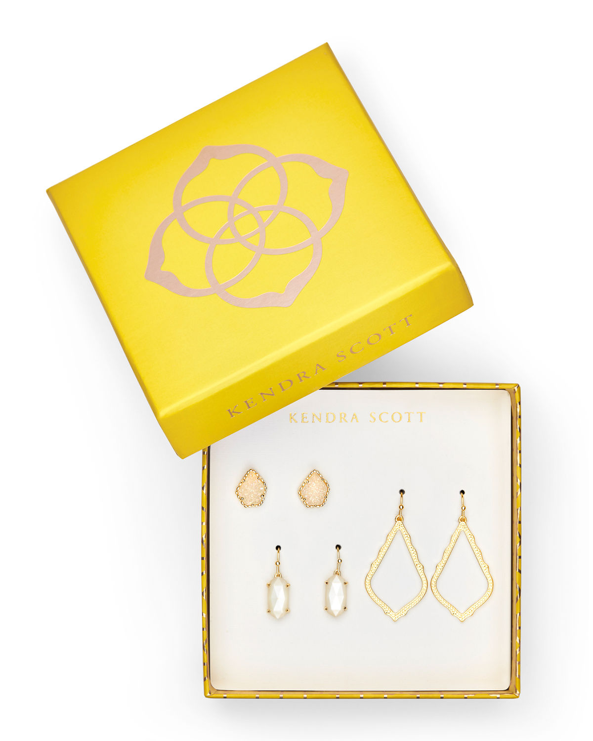 Tessa, Lee & Sophia Earrings, Set of 3
