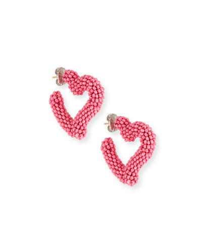 Mini Heart Hoop Earrings