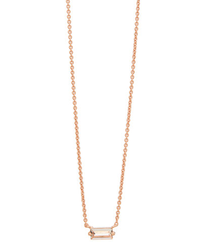 Amara Solitaire Pendant Necklace