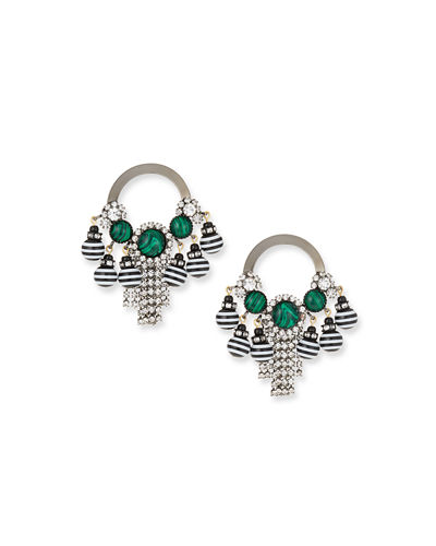 Elizabeth Cole Callie Drop Earrings