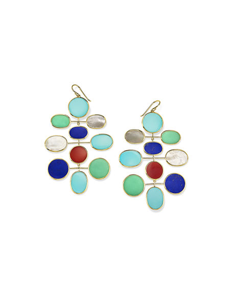 Image 1 of 3: Ippolita 18K Polished Rock Candy Large Mobile Earrings