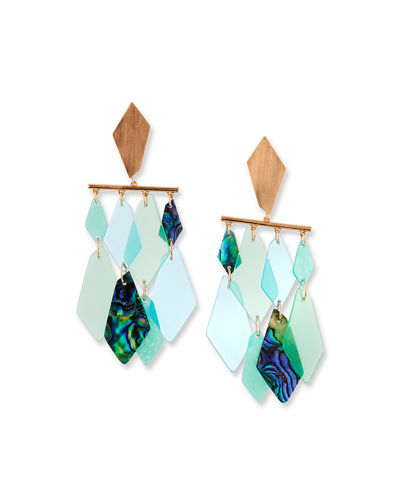 Hanna Stone Dangle Earrings