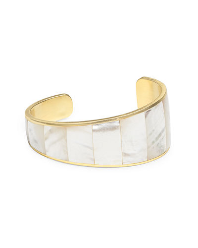 Tenley Cuff Bracelet in Mother-of-Pearl