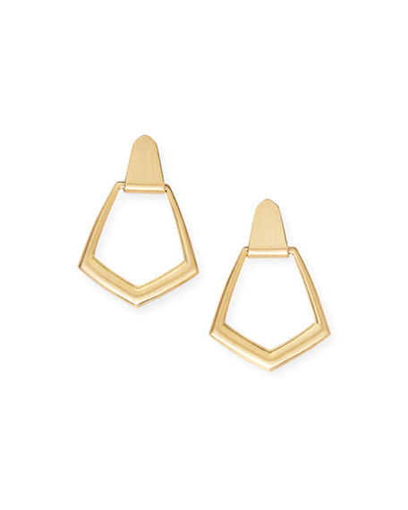 Kendra Scott Paxton Door Knocker Earrings