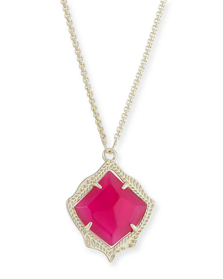 Kendra Scott Accessories KACEY NECKLACE IN 14K GOLD PLATE