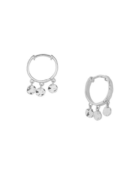 gorjana Chloe Mini Huggie Dangle Hoop Earrings