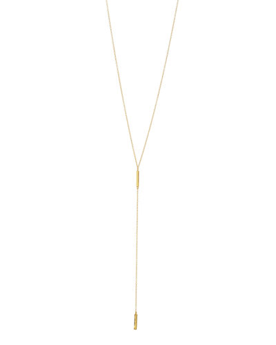 Taner Bar Short Lariat Necklace