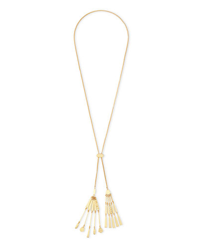 Lainey Tassel Necklace