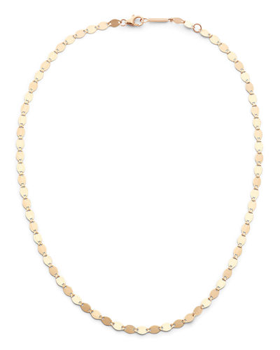 14k Large Nude Chain Choker Necklace