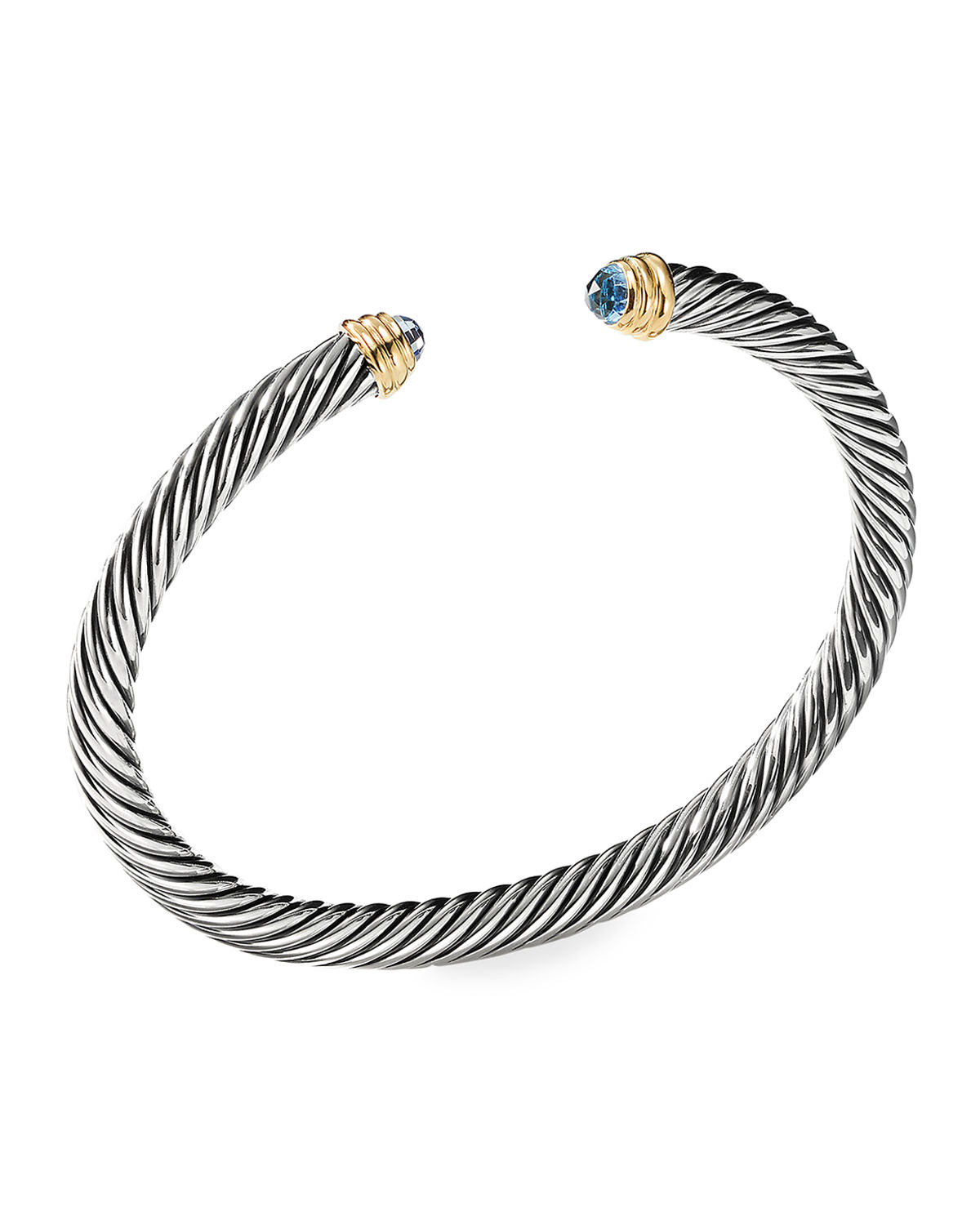Cable Classics Bracelet with Semiprecious Stones & 14K Gold