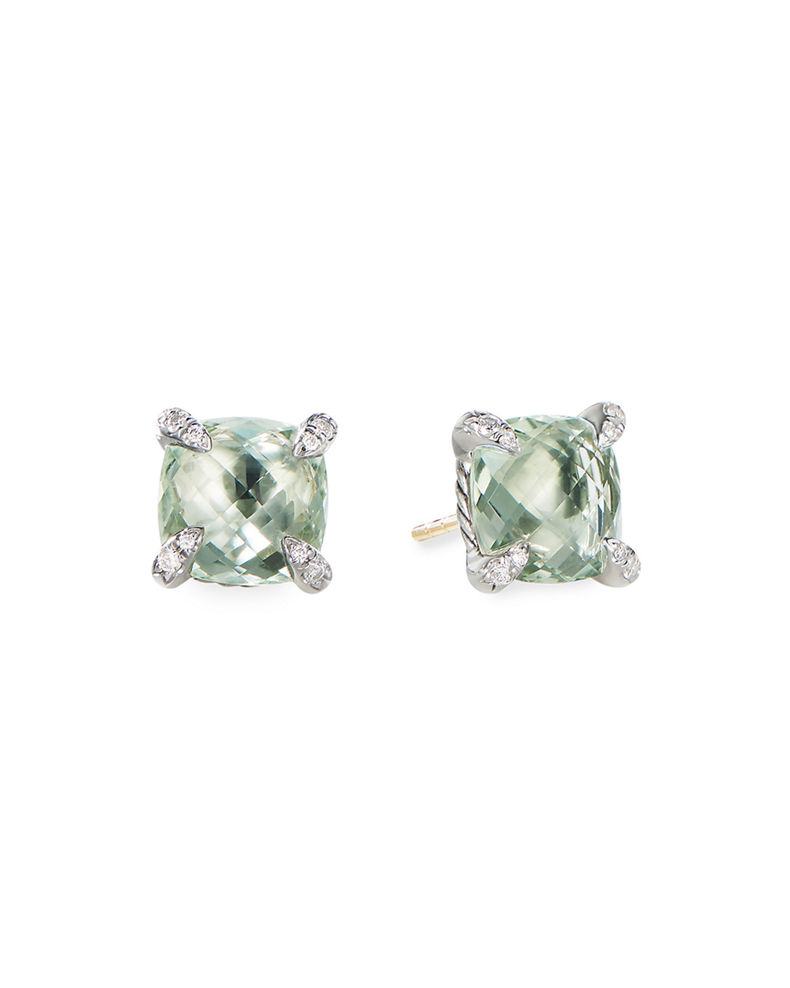 David Yurman 9mm Châtelaine Stud Earrings