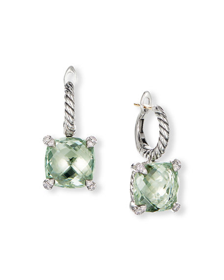 Image 1 of 3: David Yurman Chatelaine Drop Earrings