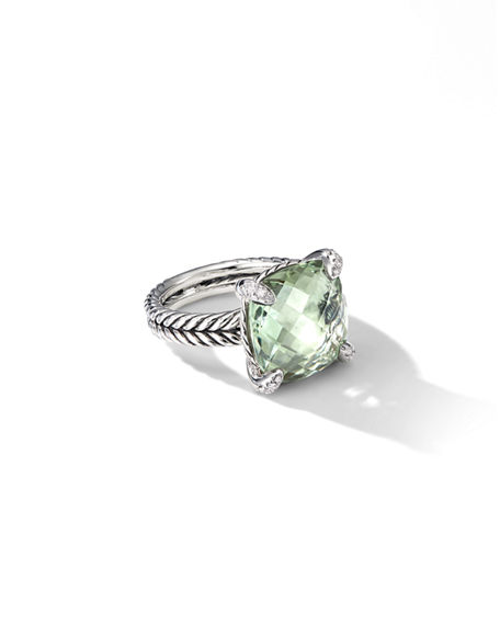 Image 1 of 5: David Yurman 14mm Chatelaine Ring