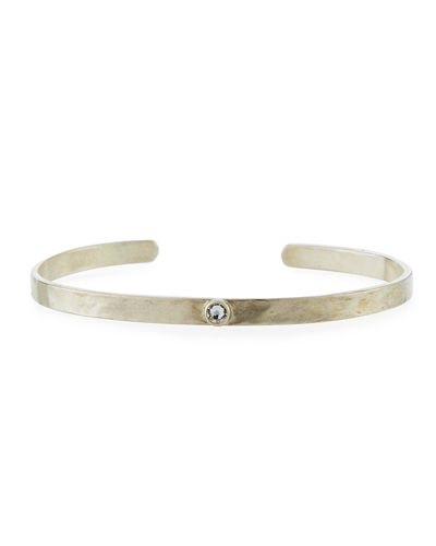 Single-Crystal Cuff Bracelet