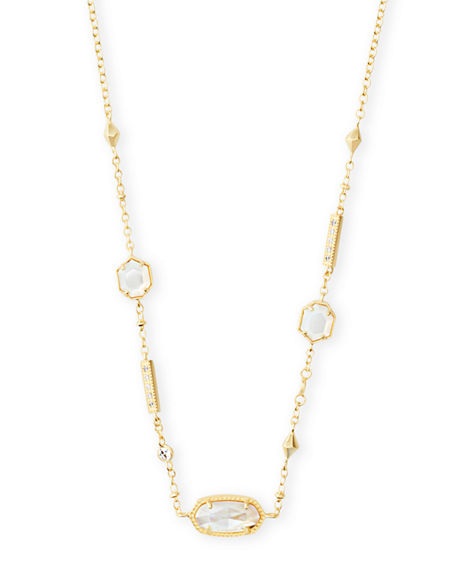 Kendra Scott Accessories MADDIE STONE-STATION NECKLACE