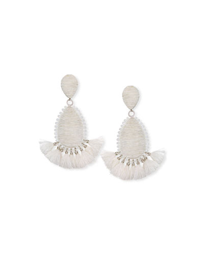 Suzanna Dai Exuma Tassel Teardrop Earrings