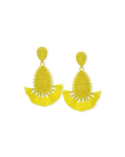 Exuma Tassel Teardrop Earrings