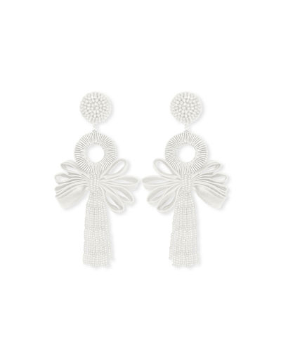Beijing Looped Tassel Earrings