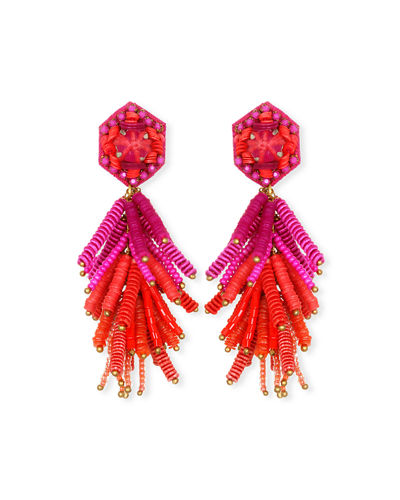 Fiesta Tassel Drop Earrings