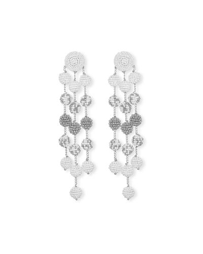 Samburu Long Chandelier Earrings
