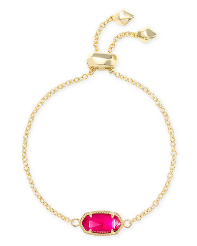 Elaina 1-Station Bracelet in Pink