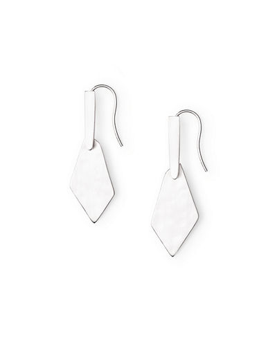 Gianna Hammered Drop Earrings