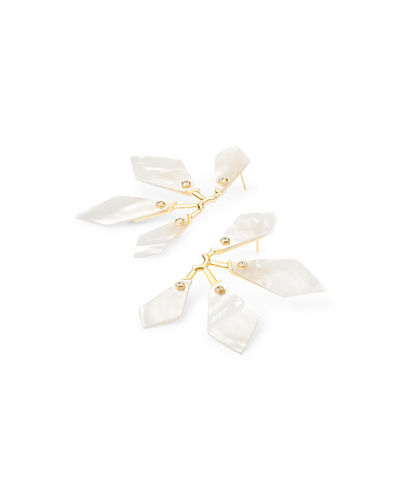 Kendra Scott Malika Geometric Post Earrings