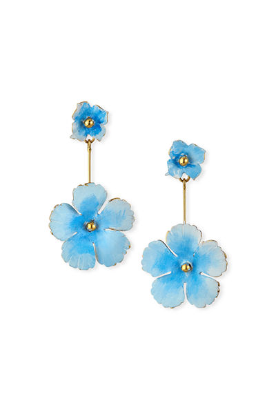 Jennifer Behr Julia Flower Earrings