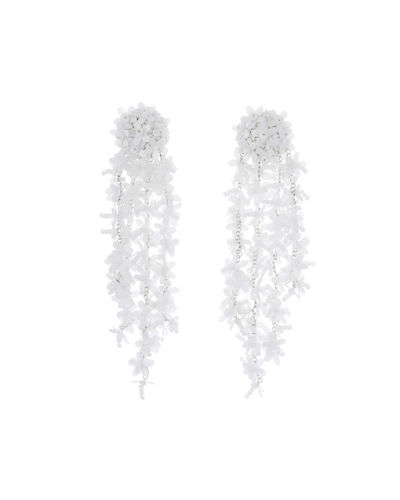 Beaded Cascade Drop Earrings