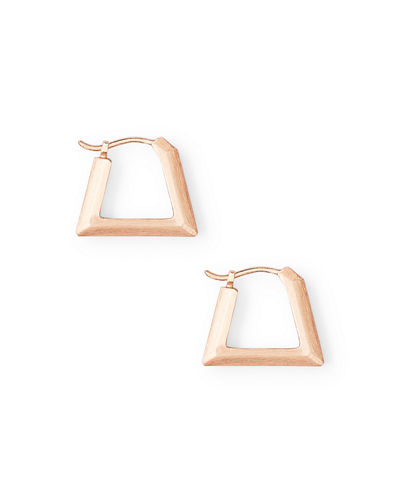 Kendra Scott Renzo Angular Hoop Earrings