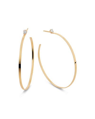 0c7675793 Gold Diamond Hoop Earrings | Neiman Marcus