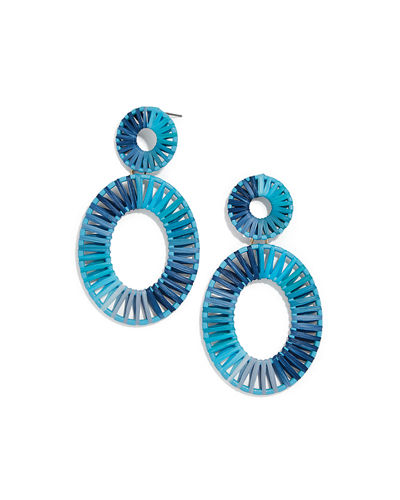 BaubleBar Mini Kiera Hoop Earrings