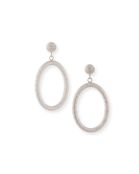 Carolina Bucci 18k Small Oval Gypsy Earrings