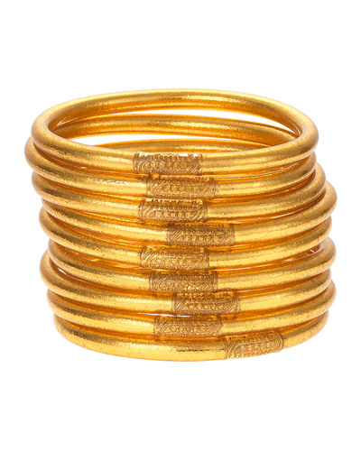 Gold All-Weather Bangles  Size S-L