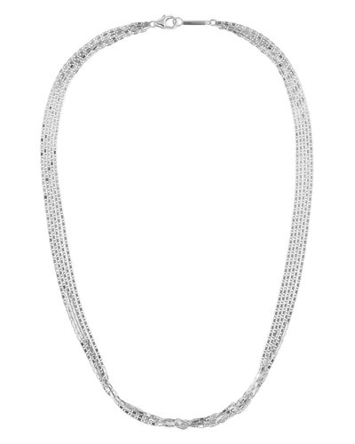 14k Malibu 5-Strand Choker Necklace