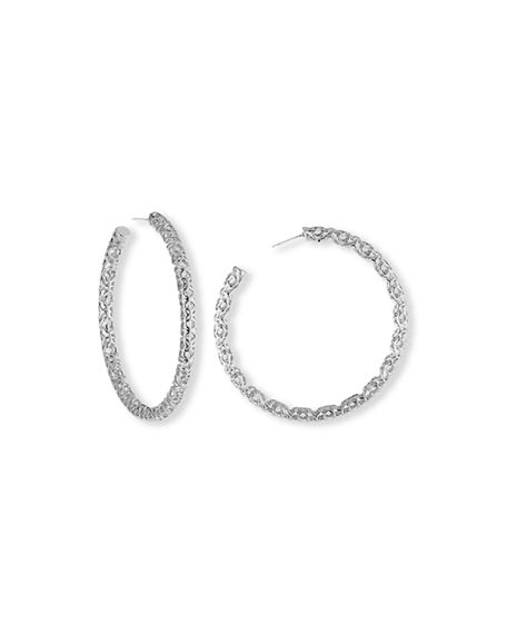 "Kendra Scott Maggie Hoop Earrings, 2.5""L"