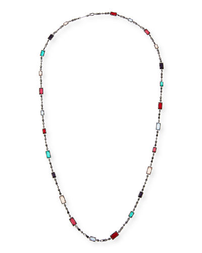Giri Long Crystal Necklace