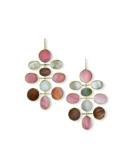 Ippolita 18K Polished Rock Candy Large Mobile Earrings in Sabbia