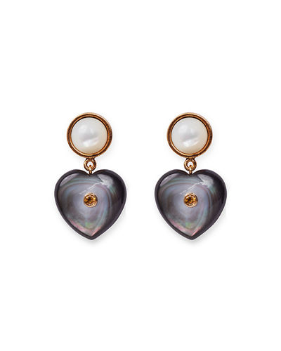 Forevermore Mother-of-Pearl Earrings