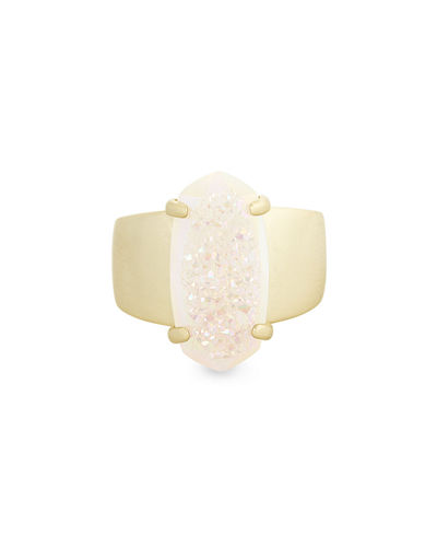 Harrison Druzy Cocktail Ring, Size 6-8