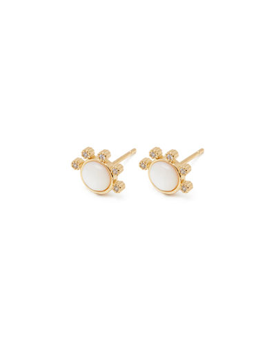 Eloise Stone Stud Earrings