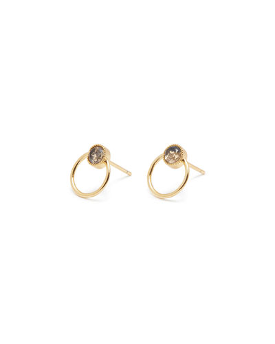 Jewels By Lux 14K Yellow Gold Pair Polished Freeform Earring With Back