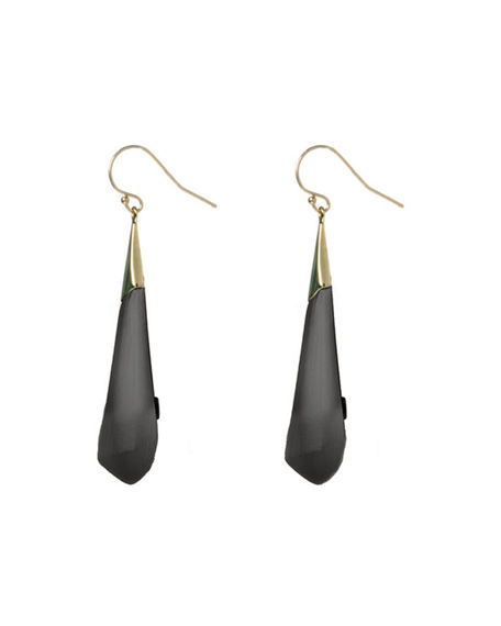 Image 2 of 2: Alexis Bittar Faceted Wire Earrings