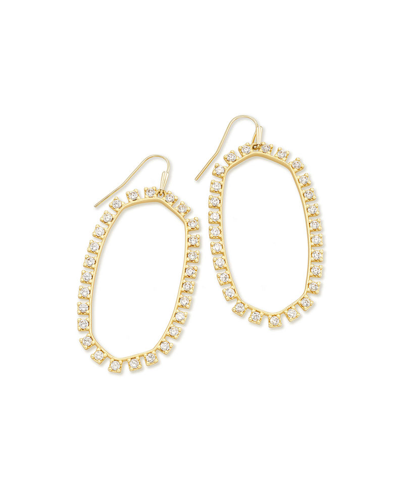 Kendra Scott Danielle Open Frame Drop Earrings