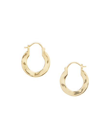 gorjana Jax Profile Huggie Hoop Earrings