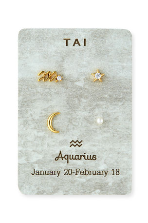 Tai Zodiac Earring Set