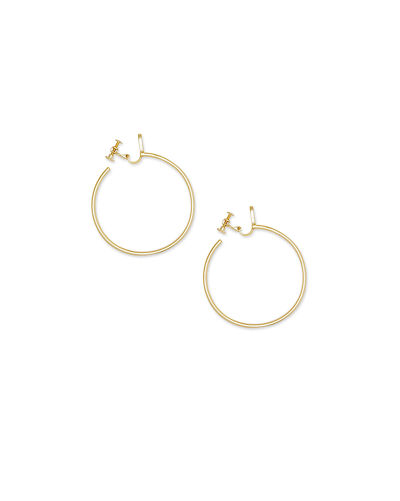 Kendra Scott Pepper Clip-On Hoop Earrings
