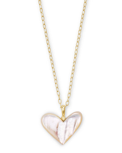 THE LOOK OF REAL-THE PAVE FLOATING HEART CLEAR RHODIUM NECKLACE-BRIDAL